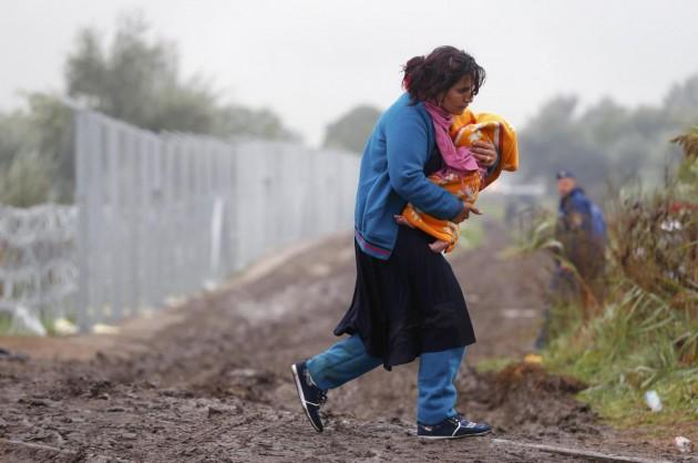Migranti arrivano in Ungheria dalla Serbia