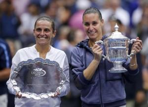 Tennis, Us Open la finale Pennetta-Vinci