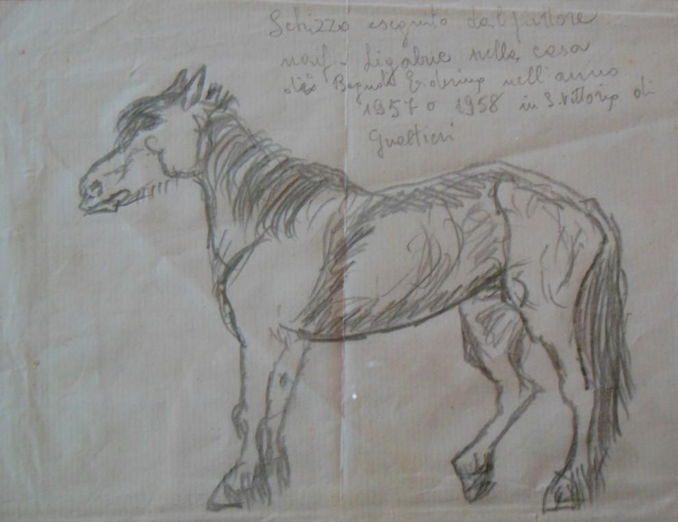 Antonio Ligabue, Cavallo