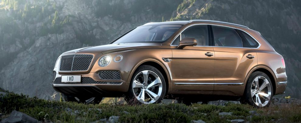 Bentley Bentayga 990