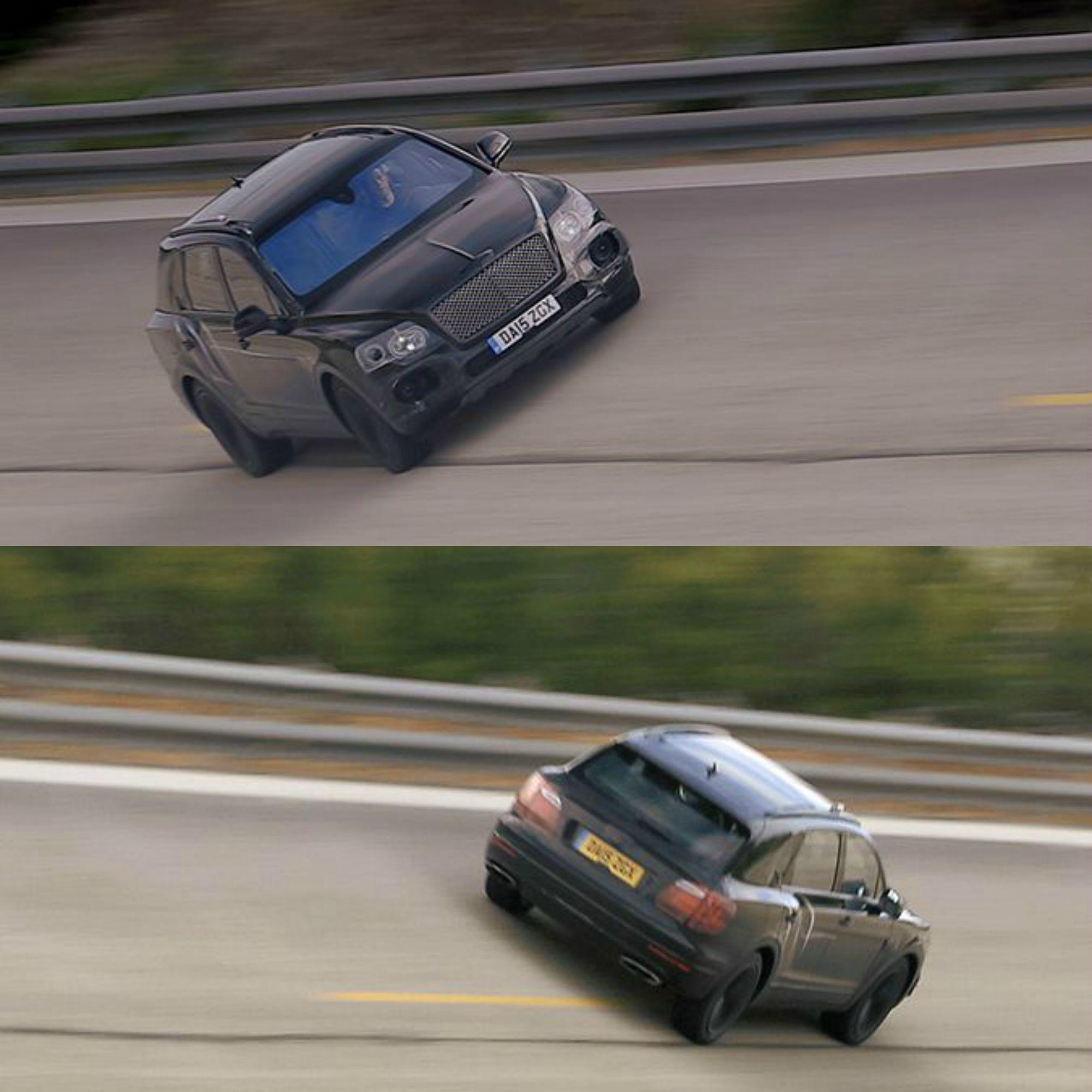 """Francoforte 2015, Bentley Bentayga, La """"Suv Più Veloce"""