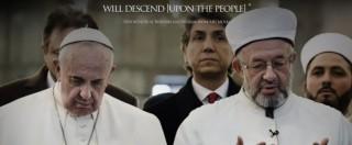 """Isis, """"Papa crociato"""": Francesco per la prima volta in foto sulla rivista ufficiale del Califfato"""