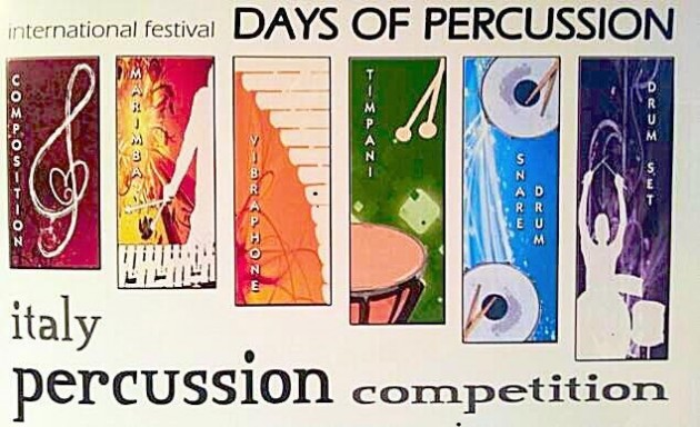 Days of percussion - blog PAOLO TALANCA