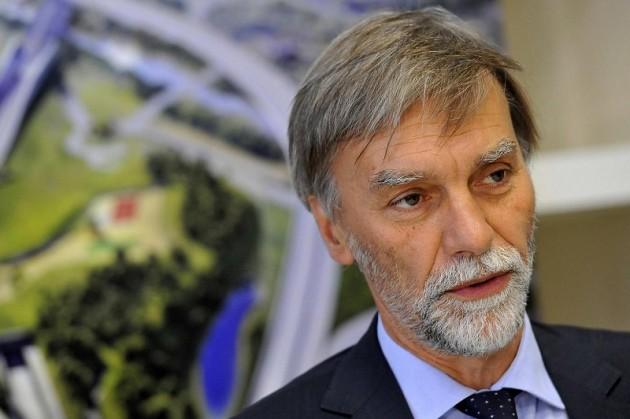 Incontro alla sede TELT tra Graziano Delrio, ministro Italiano e Alain Vidalies