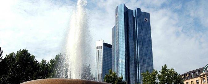 Banche, Deutsche Bank taglia 23mila posti di lavoro su 100mila