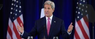 """Migranti, Kerry: """"Stati Uniti pronti ad accogliere 100mila profughi nel 2017"""""""