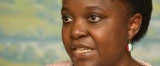 """Kyenge: """"Non lascio Pd, ma Calderoli è stato razzista. Politica irresponsabile"""""""