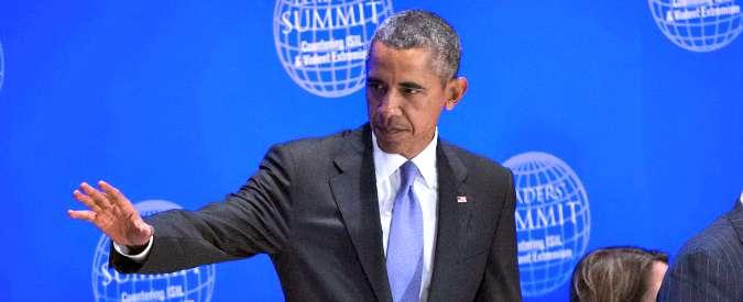 """Siria, Obama: """"Isis perderà, è circondato. Ma Bashar Al Assad deve andare via"""""""