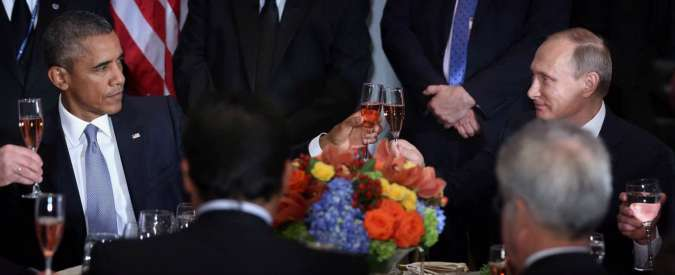 """Siria, """"Guerra Fredda"""" tra Putin e Obama all'Onu. Sullo sfondo la crisi Ucraina"""