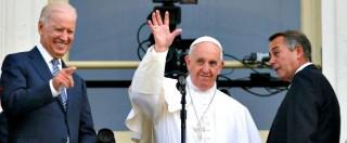 Papa Francesco in Usa, con il discorso al Congresso fa felici i Democratici. E dà slancio alla loro campagna elettorale