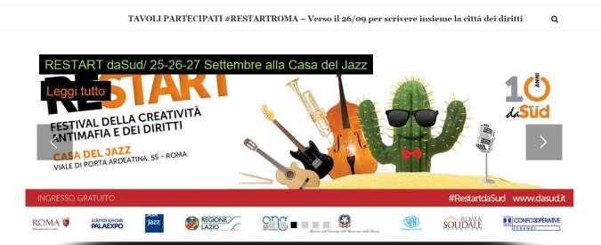 Festival Restart, a Roma la lotta alla mafia riparte dalle scuole di periferia
