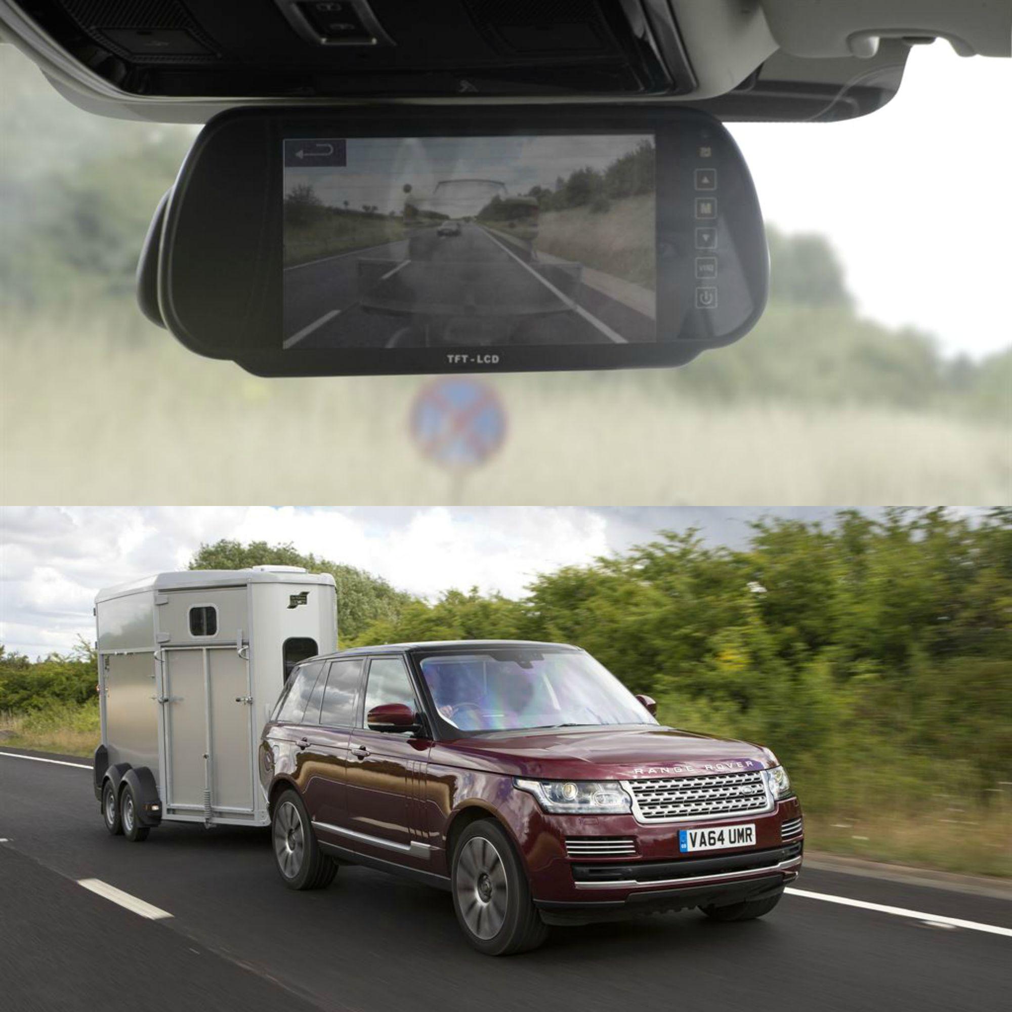 """Jaguar Land Rover, la tecnologia rende """"trasparente"""" il rimorchio"""
