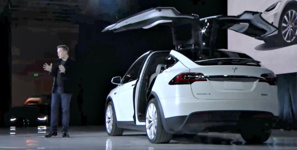 Tesla Model X presentazione 29 settembre 2015