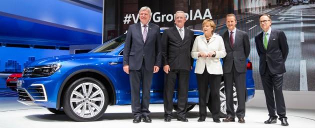 Volkswagen Merkel IAA