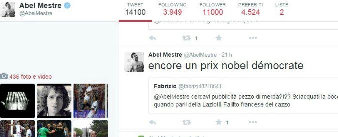 """Lazio, tifosi contro cronista di Le Monde su Twitter: """"Zecca, sporco pezzo di m…"""""""