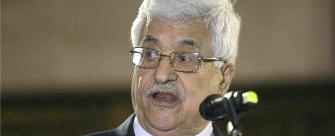 """Onu, Abu Mazen: """"Non siamo più legati ad accordi di Oslo con Israele"""""""