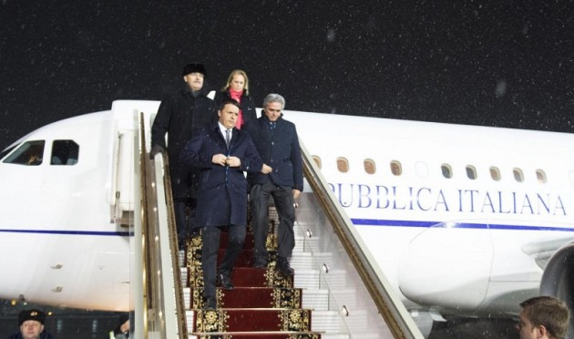 Matteo Renzi a Mosca