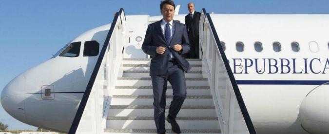 Air force Renzi: 175 milioni per l'aereo di Stato, solo 10 per la diagnosi precoce delle patologie ereditarie