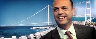 """Governo Renzi, Alfano: """"Articolo 18? Merito nostro. Ora il Ponte sullo Stretto"""""""