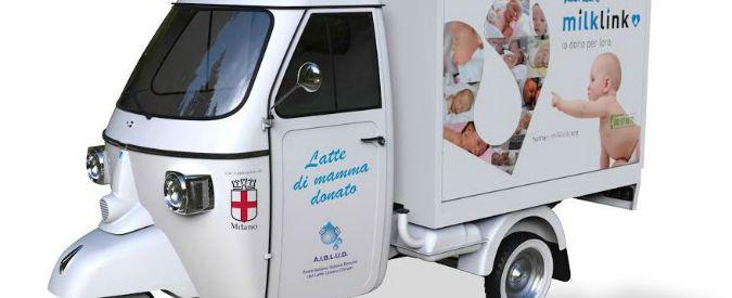Milano, arriva l'Ape Milk: raccoglierà il latte materno a domicilio