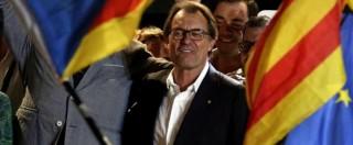 """Referendum Catalogna, Mas incriminato. Il portavoce: """"Anomalia democratica"""""""
