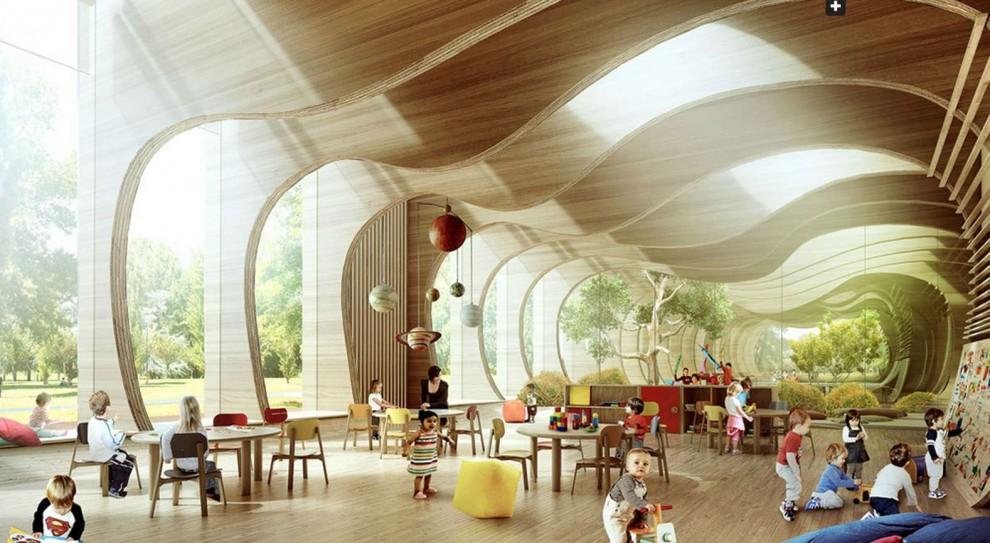 Terremoto l 39 asilo ricostruito il pi bello del mondo - Design d interni milano ...