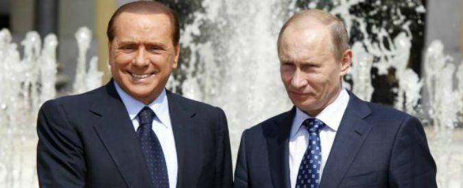 """Ucraina, """"Berlusconi non grato per 3 anni dopo visita in Crimea con Putin"""""""