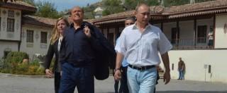 """Ucraina, governo condanna visita di Berlusconi in Crimea: """"Viola legge e contrasta politica Ue"""""""