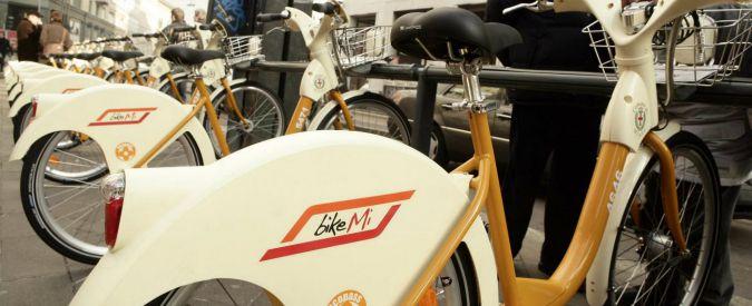 Mobilità condivisa, gli italiani sono sempre meno gelosi di auto e biciclette