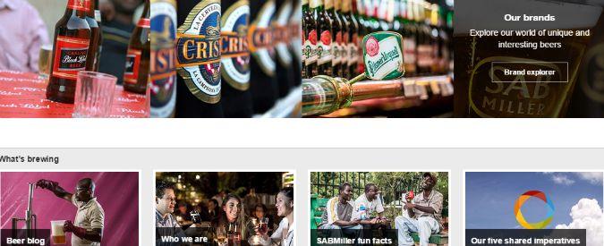 Ab Inbev-SabMiller, i maggiori produttori mondiali di birra verso la fusione
