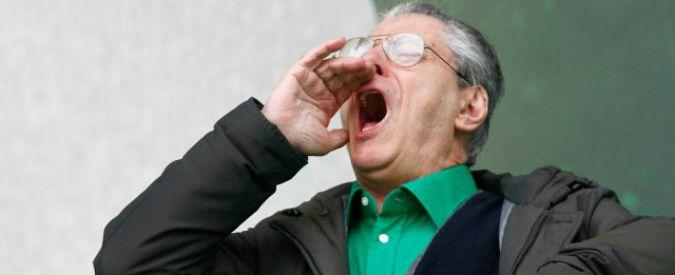Lega Nord, Bossi condannato a un anno e mezzo per vilipendio a Napolitano