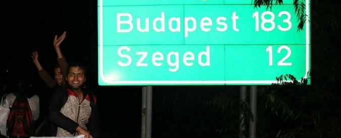 Migranti, italiano diretto in Germania fermato in Ungheria con 33 siriani sul furgone