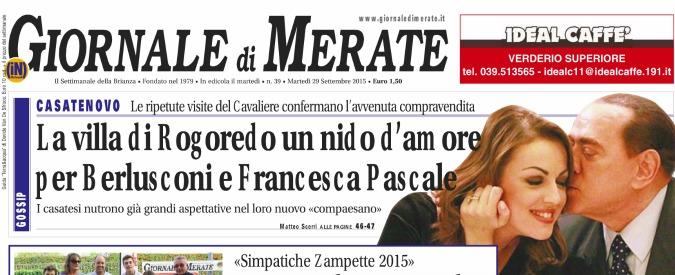 """Berlusconi compra villa in Brianza alla Pascale. """"Ora vivranno separati"""""""