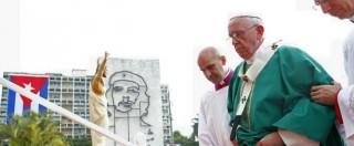 Cuba, Papa Francesco dice messa in plaza de la Revolucion di fronte a 500mila persone (FOTO)