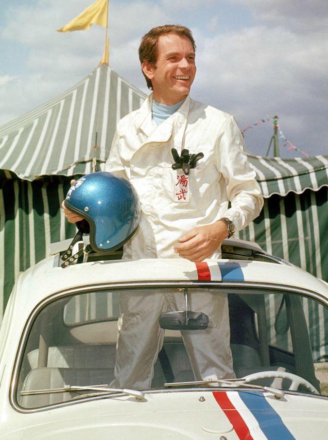Dean Jones, morto il pilota del 'Maggiolino tutto matto'