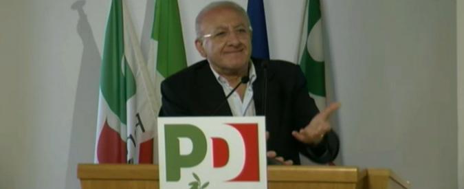 """De Luca, Ciarambino(M5s): """"Picchiatore di Renzi"""". Ma Galli (Pd): """"Suo linguaggio da educande rispetto a schifezze di Grillo"""""""