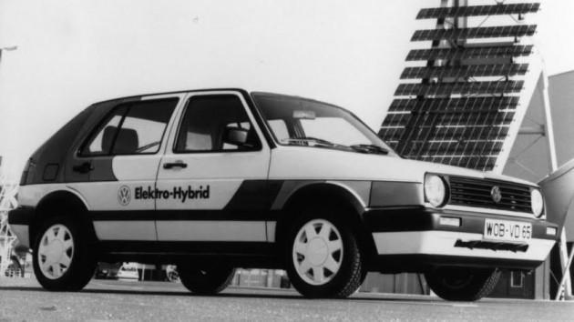 electro-hybrid Volkswagen