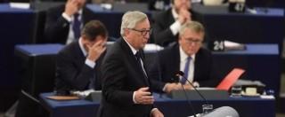 """Profughi, Juncker: """"Manca l'Europa e manca l'Unione. E' il tempo dell'umanità"""""""