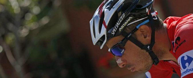 Vuelta 2015, impresa di Fabio Aru nella crono. Maglia rossa a Domoulin