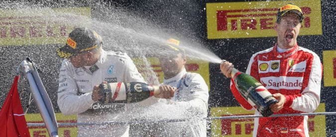 Formula 1, Gran premio d'Italia: a Monza domina Hamilton, Vettel secondo davanti a Massa. Raikkonen si inchioda al via