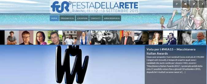 Macchianera awards, 10° edizione del concorso che premia il web: la scheda per votare