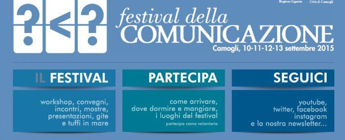 Festival della comunicazione, a Camogli va in scena l'evoluzione del linguaggio