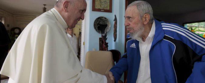 Cuba, Papa Francesco incontra Fidel Castro e gli regala libri sulla religione