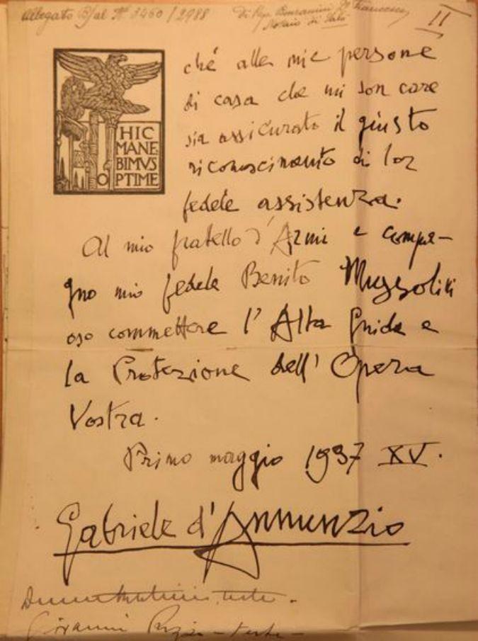 """Festival della filosofia, """"Io qui sottoscritto"""" mette in mostra i testamenti celebri: da Garibaldi, a De Gasperi passando per Pirandello"""