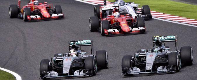 F1, Gp del Giappone: doppietta Mercedes, poi le Ferrari di Vettel e Raikkonen