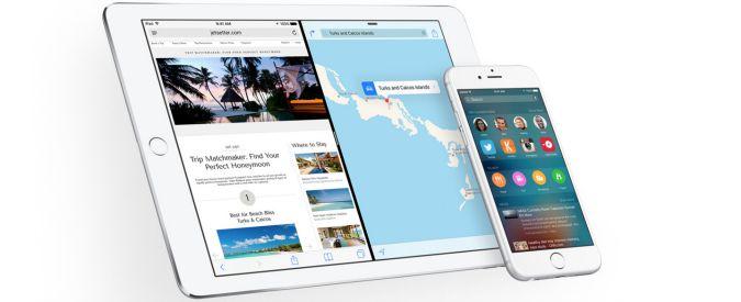 iOS 9: nuovi comandi, più funzioni e prestazioni migliorate. Ma tante novità sono disponibili solo su tablet
