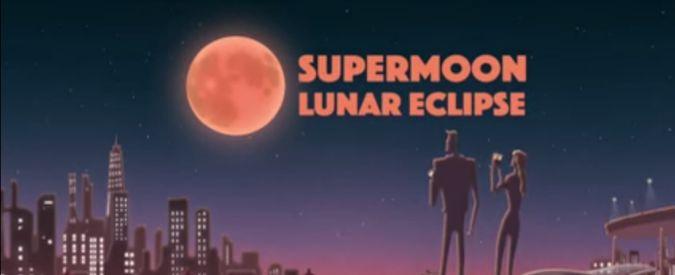 Eclissi del 28 settembre, la Superluna sarà rossa e vicinissima alla Terra. La Nasa la racconta in un cartone