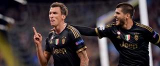 Champions League, Manchester City – Juventus 1-2: Mandzukic e Morata segnano, Buffon para. Bianconeri alle stelle e addio crisi