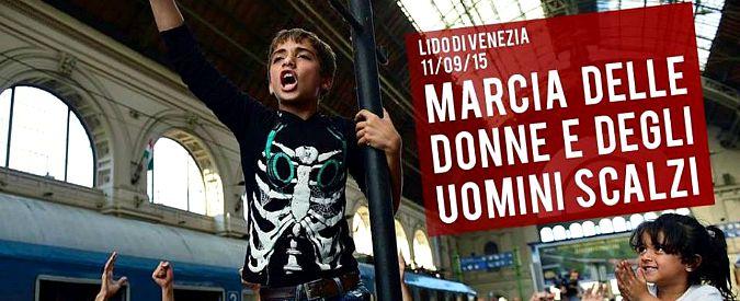 Marcia degli scalzi, a Venezia l'iniziativa contro la propaganda xenofoba