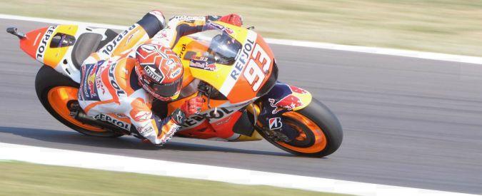 MotoGp San Marino, prime prove libere. Marquez il più veloce, Rossi sesto